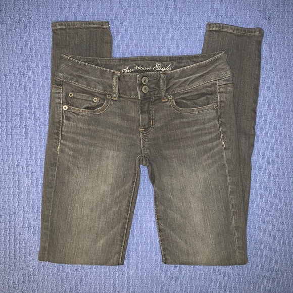American Eagle Outfitters Pants - American Eagle Grey Jeans